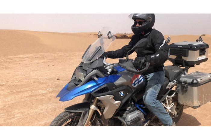 Výlet BMW motocyklami do Maroka 2019